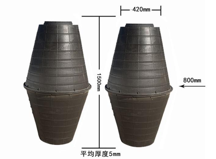 双瓮漏斗式化粪池怎么安装?