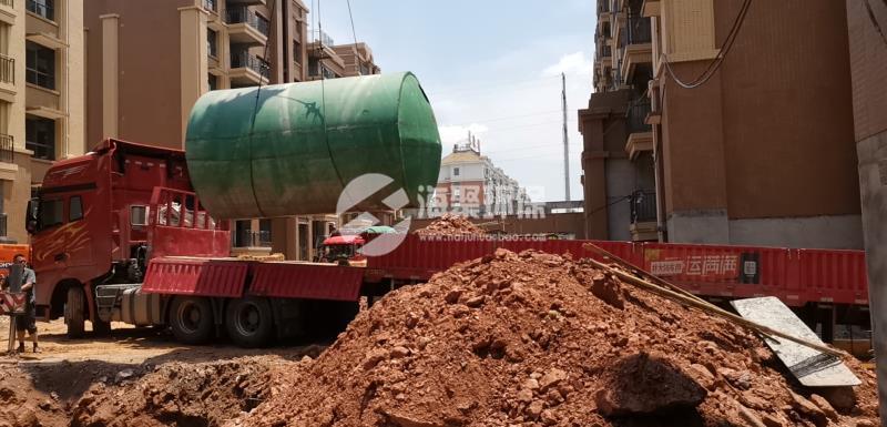 水泥化粪池安装尺寸确认?
