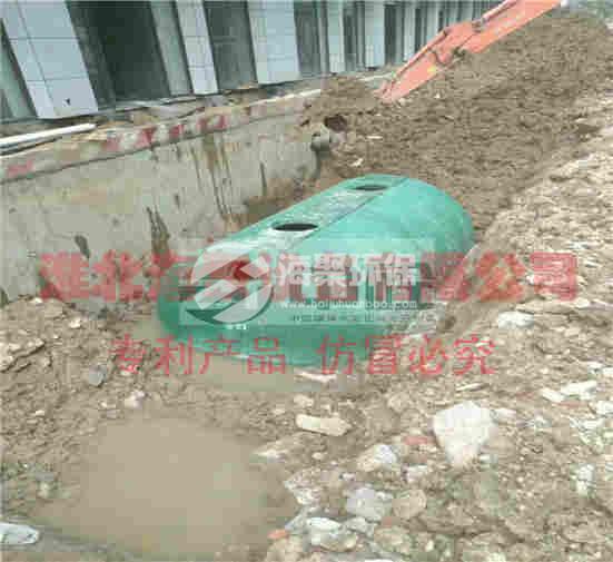 广东:农村改造环保型玻璃钢化粪池价