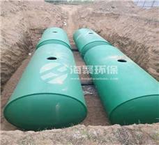 厂家定制新型水泥化粪池10-100m3