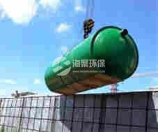 淮北国购广场水泥化粪池案例